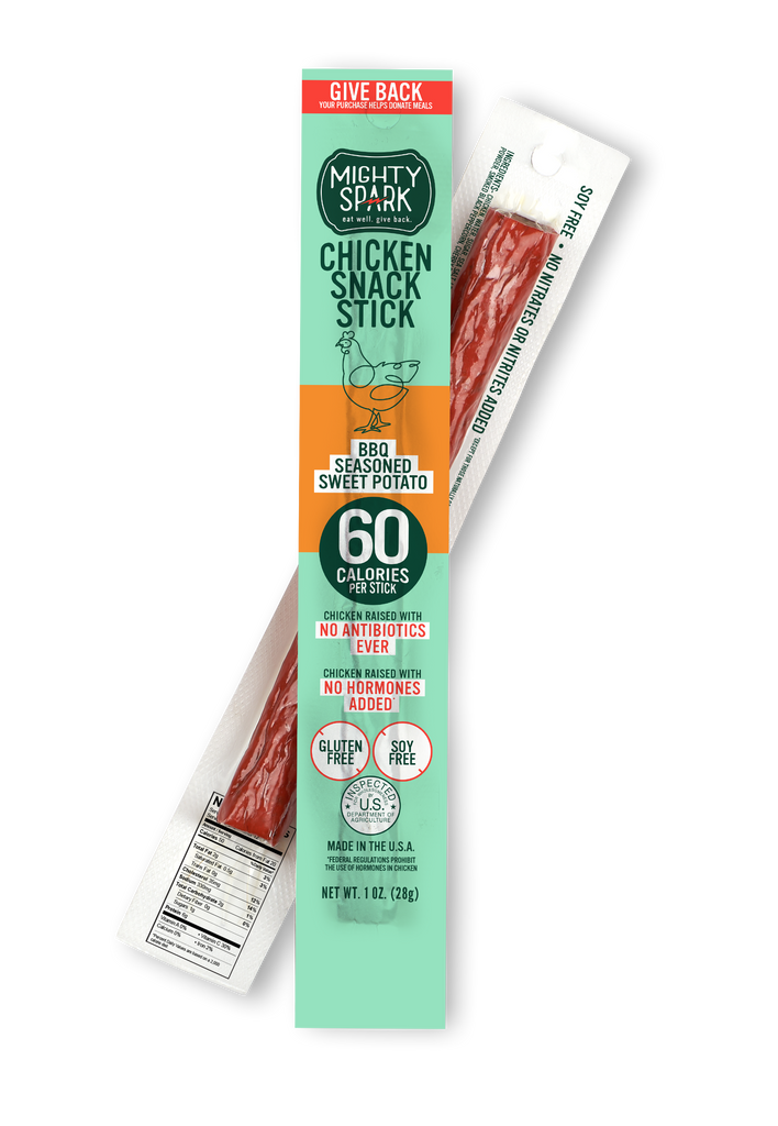 Chicken BBQ Sweet Potato Snack Stick