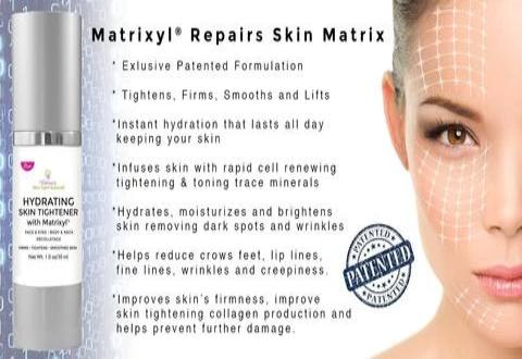 matrixyl skin tightener