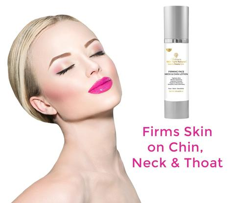 Firming Face, Neck & Chin Tightening Lotion Restores Elasticity Tone and Tightness!