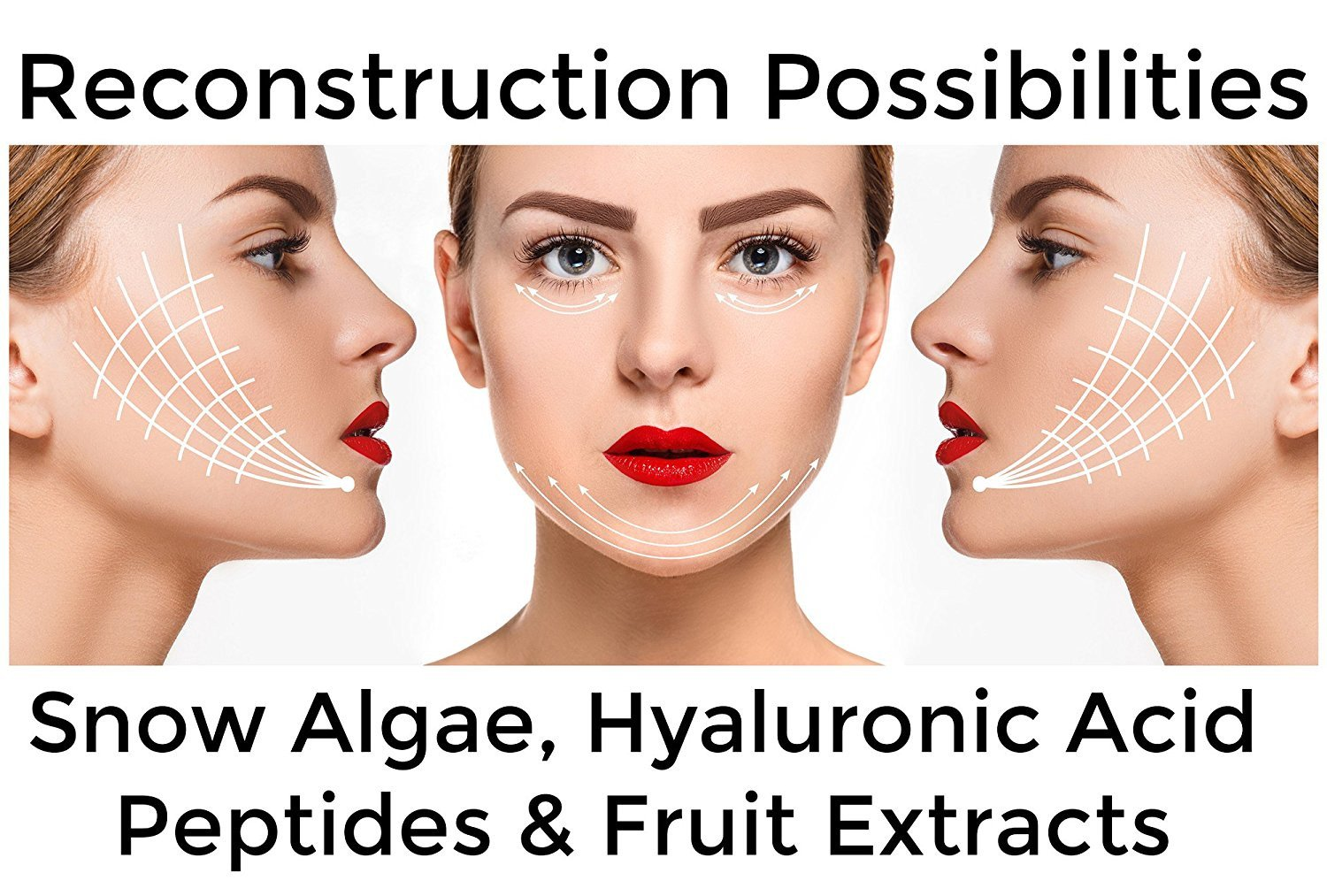collagen peptides fruit extrats, hyaluronic acid