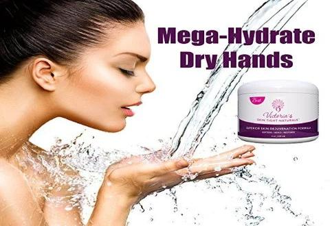 mega moisturizing cream for hands feet crepe skin