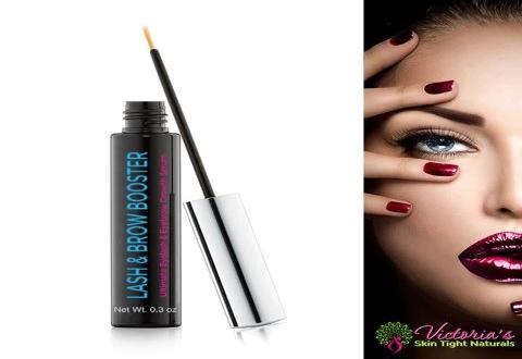 Eyelash Enhancer & Brow Booster Increases Length and Volume Naturally and Quickly