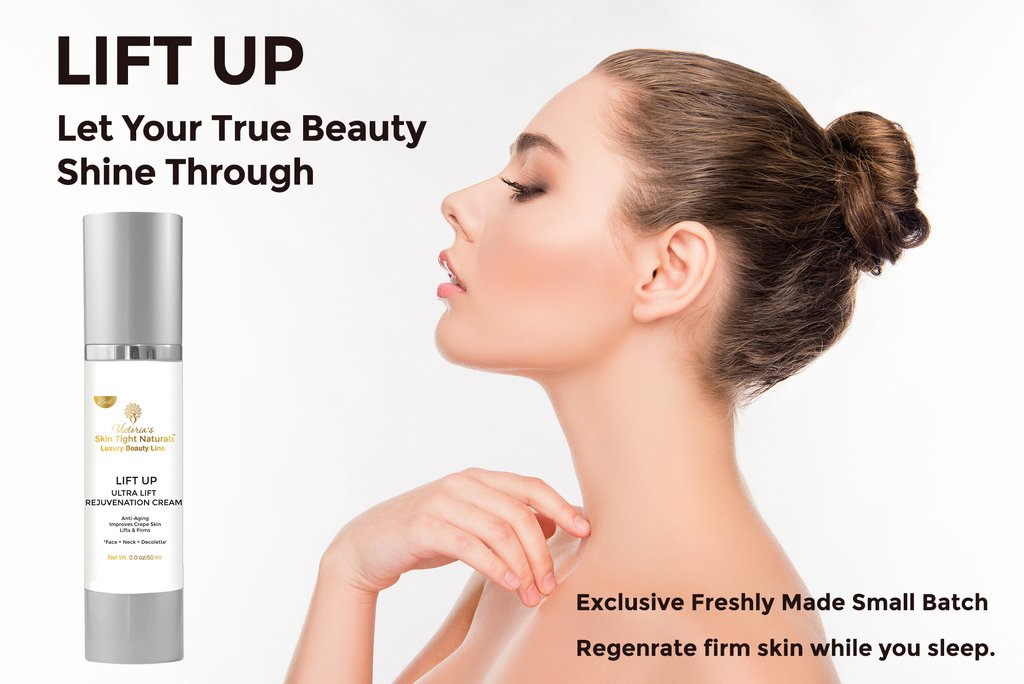 Lift Up Ultra Lift Cream For Face and Neck Wrinkles, Fine Lines and Crepe Skin