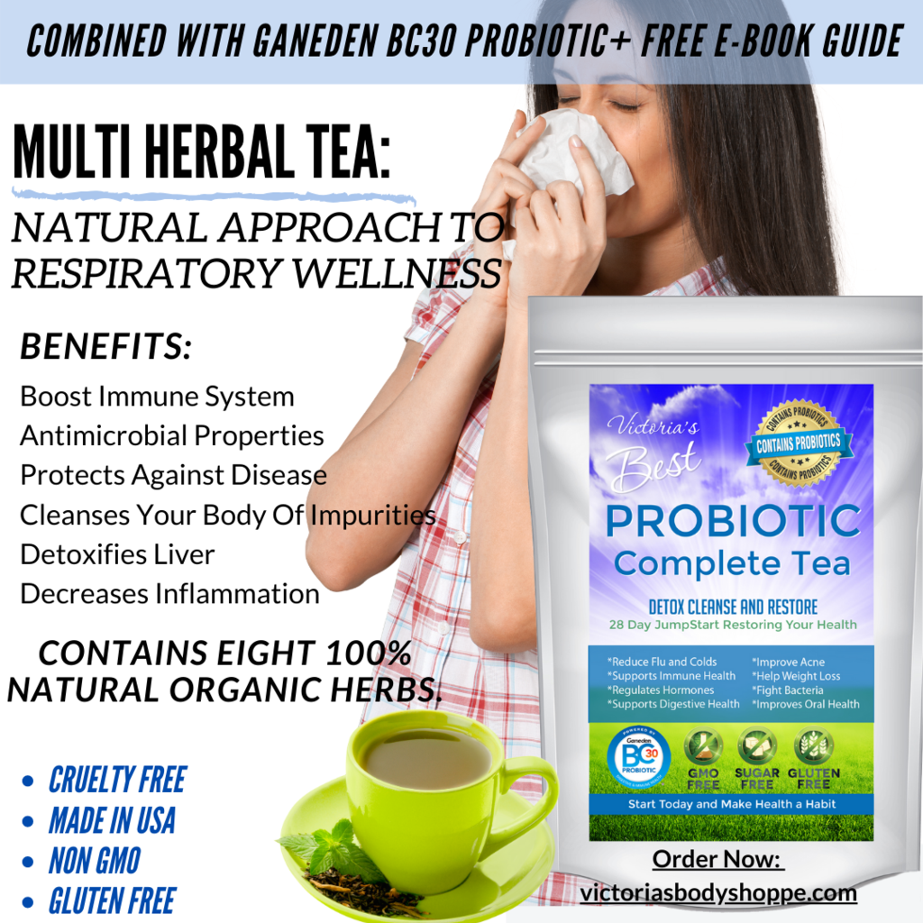 Probiotic Complete Tea 28 Day Weight Loss Healthy Detox