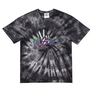Peace Tie - Dye Tee - Black - Mossimo Authentic