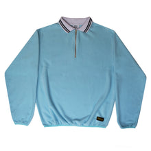 Load image into Gallery viewer, Blue Relaxed Zip Sweatshirt - Mossimo Authentic