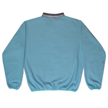 Load image into Gallery viewer, Blue Relaxed Zip Sweatshirt