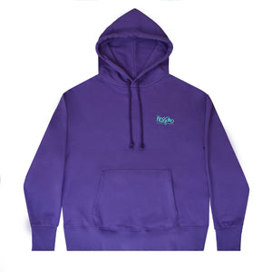Relaxed Hoodie - Purple - Mossimo Authentic