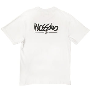 Classic Logo Tee - White - Mossimo Authentic
