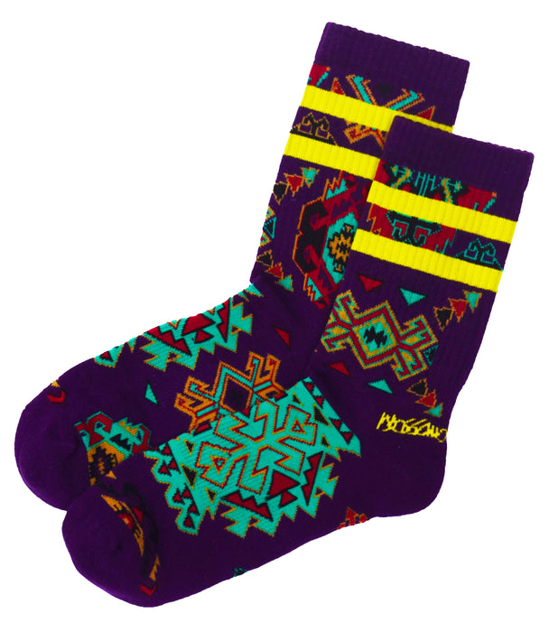 Socks - Purple Multi