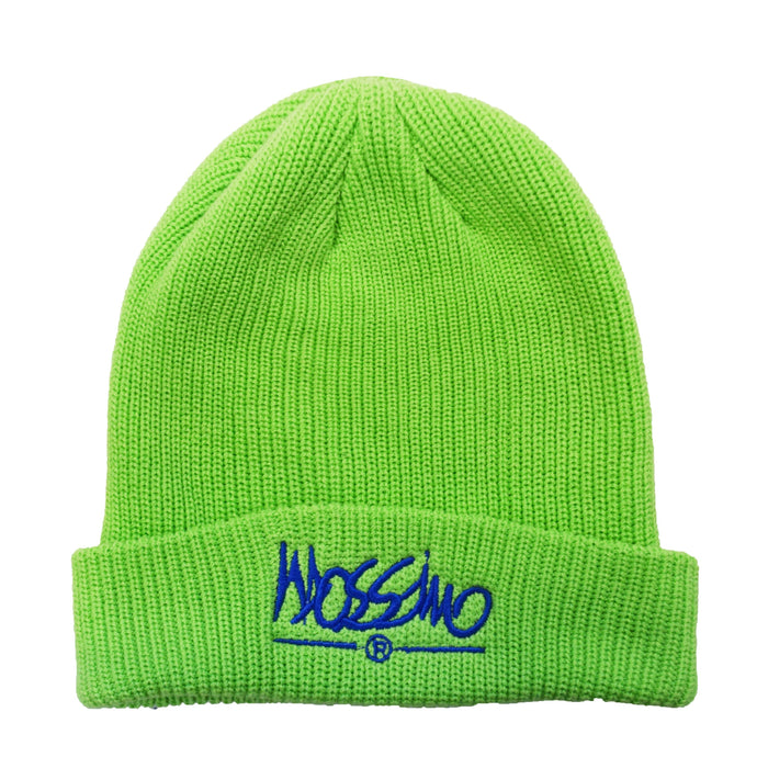Classic Logo Beanie - Green - Mossimo Authentic