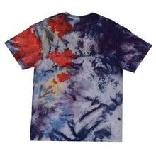 Load image into Gallery viewer, Blue Tie Dye Logo T-shirt