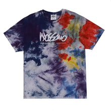 Load image into Gallery viewer, Blue Tie Dye Logo T-shirt - Mossimo Authentic