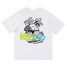 Load image into Gallery viewer, Ombre Logo Tee - White