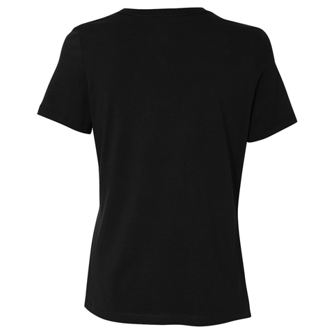 PS I Love You Embroidered Women's Tee in Black