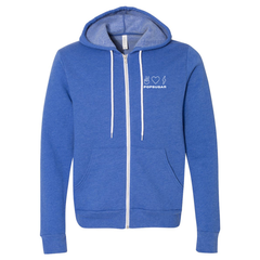 POPSUGAR Peace, Love & Good Energy Zip Hoodie