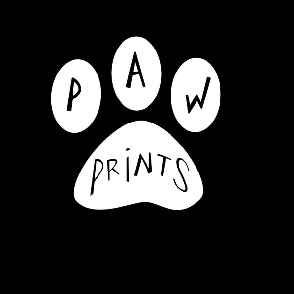 Free Vinyl Decal - Paw Prints Screen Printing