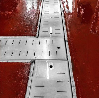 SS Custom Floor Drains (Price Per Foot)