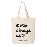Customizable Wedding Welcome Tote