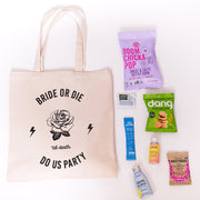 Bride Or Die Canvas Tote Online