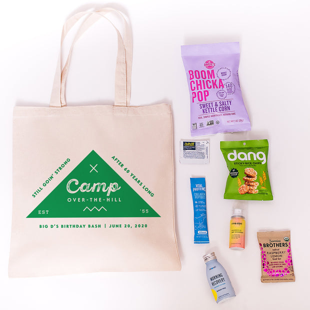 Buy Camp Over The Hill Canvas Tote
