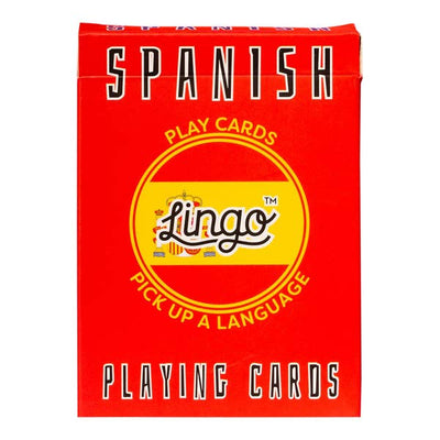 Learn Spanish Playing Cards