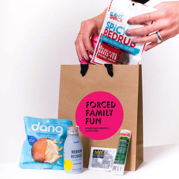 Forced Family Fun Kraft Tote