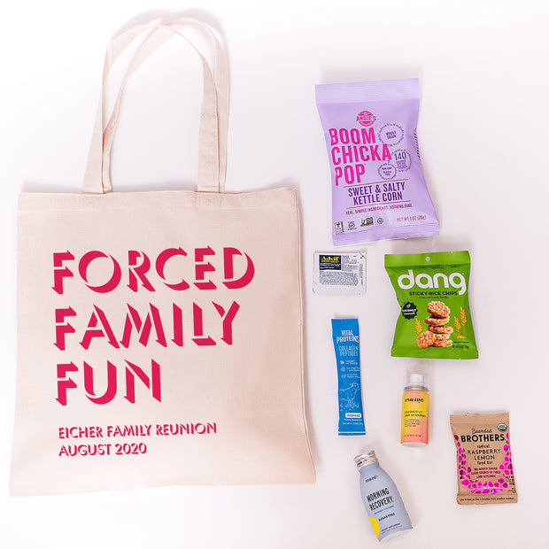 Forced Family Fun Reunion Tote