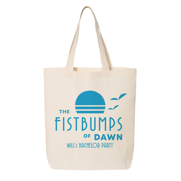 Fist Bump Canvas Tote
