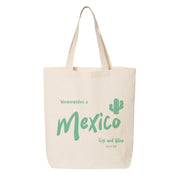 Mexico Canvas Tote