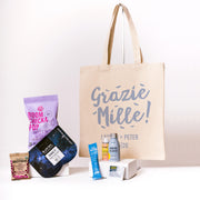 Grazie Canvas Tote for welcome guests
