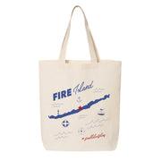 Fire Island Canvas Tote