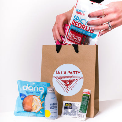 Let's Party Kraft Tote