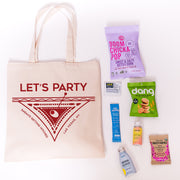 Buy Let's Party Canvas Tote online