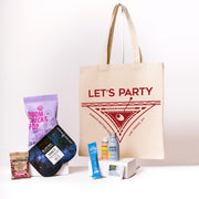 Let's Party Canvas Tote Online