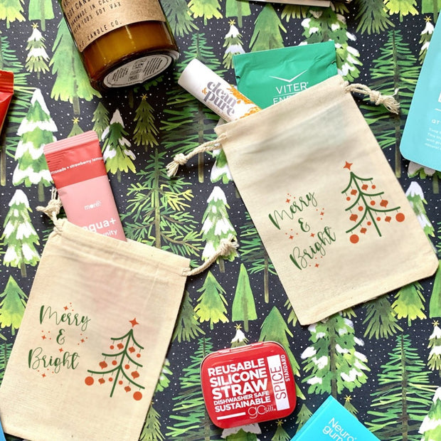 Merry & Bright - Holiday Gift Totes