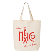 Classic Mexico Canvas Tote bag