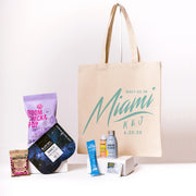 Meet Us In Miami Canvas Tote