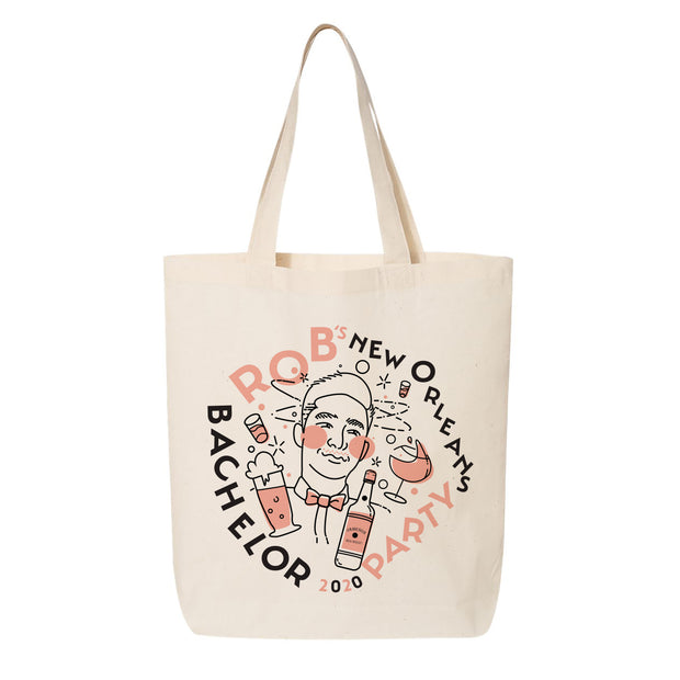 Bachelor Party City Tote (NOLA)