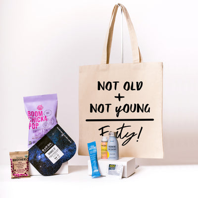 Buy Not Old Not Young Canvas Tote online