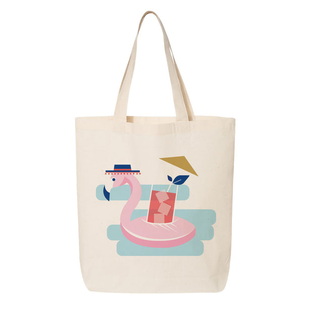 Pool party tote