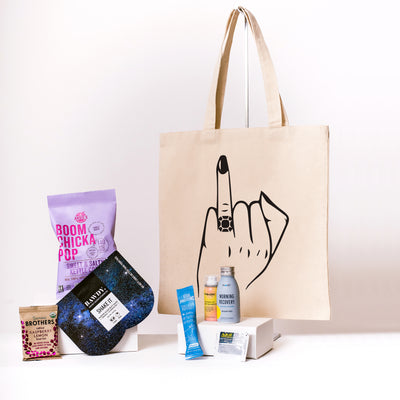 Ring Finger Canvas Tote