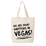 Happens in Vegas Canvas Tote
