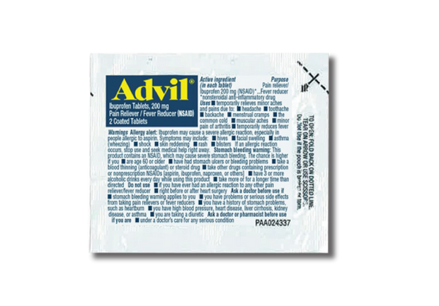 Advil Packet
