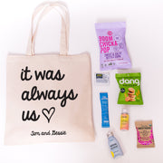 It Was Us Canvas Tote Online