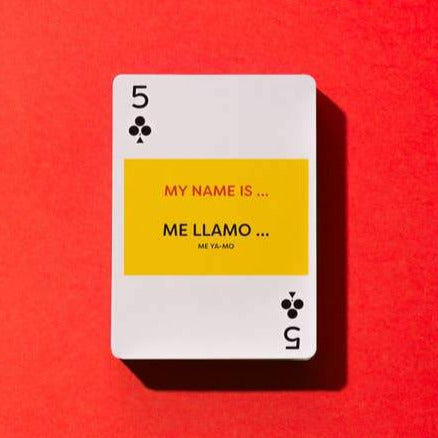 Learn Spanish Playing Cards Online