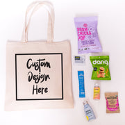 Your Logo Fully Customizable Canvas Tote Online