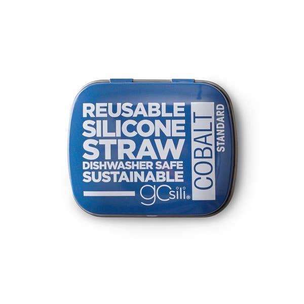 Go Sili - Silicone Straw Tin Single Gift