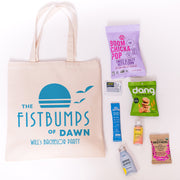 Online Fist Bump Canvas Tote
