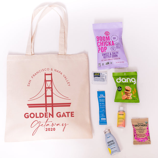 Golden Gate Getaway Canvas Tote online